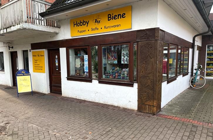 Hobby Biene Schaufenster